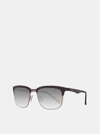 Čierne slnečné okuliare Guess