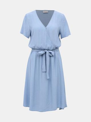 Světle modré šaty VILA Primera