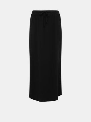 Čierna basic maxi sukňa VILA Dell