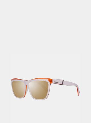 Biele slnečné okuliare Diesel