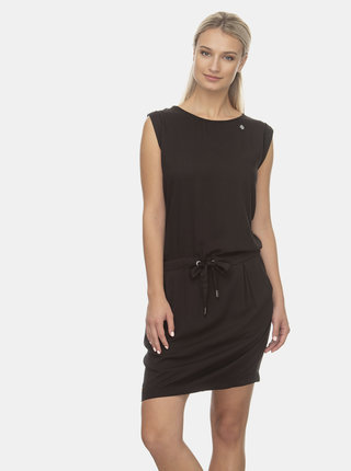 Čierne šaty Ragwear Mascarpone