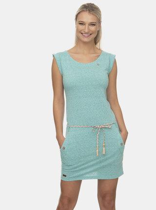 Svetlozelené šaty Ragwear Tag