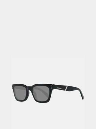 Černé dámské sluneční brýle Diesel
