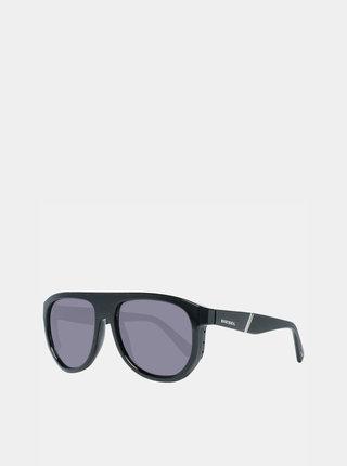 Čierne pánske slnečné okuliare Diesel