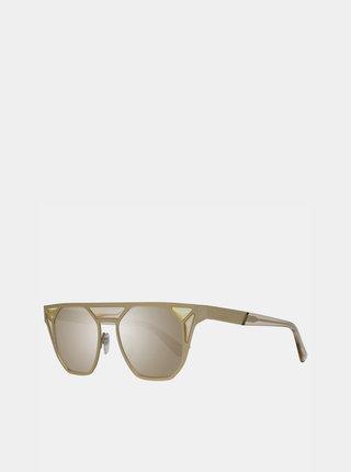 Dámske slnečné okuliare v zlatej farbe Diesel