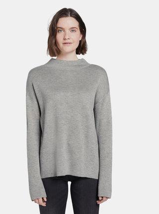 Šedý dámsky sveter Tom Tailor