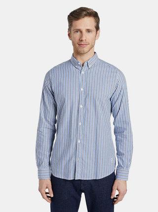 Svetlomodrá pánska pruhovaná košeľa Tom Tailor