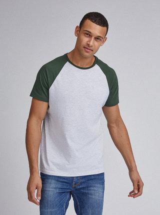 Svetlošedé basic tričko Burton Menswear London