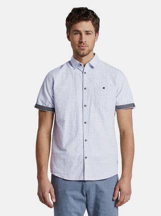 Svetlomodrá vzorovaná košeľa Tom Tailor
