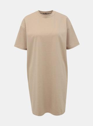 Béžové basic šaty VERO MODA Joy