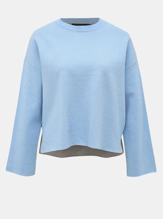 Modrý sveter VERO MODA Delub Double