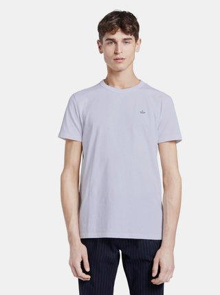 Biele pánske basic tričko Tom Tailor Denim