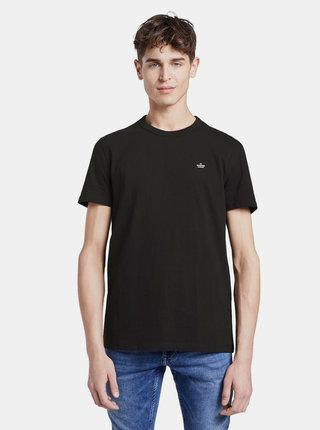 Čierne pánske basic tričko Tom Tailor Denim
