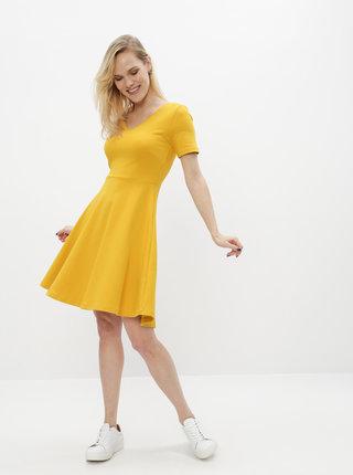 Žluté basic šaty ZOOT Julia