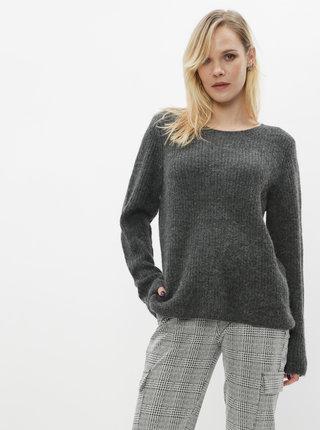 Šedý basic svetr s příměsí vlny VILA Good