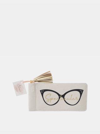 Krémové púzdro na okuliare CGB