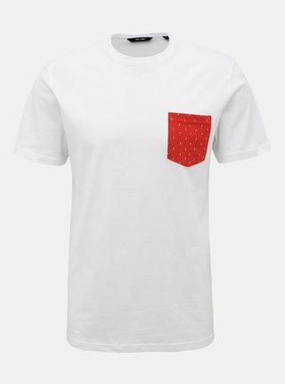 Biele tričko ONLY & SONS Novice