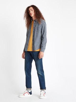 Tmavě modrá pánská kostkovaná košile Levi's®