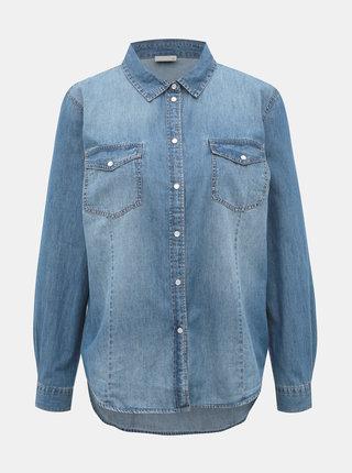 Modrá džínová košile Jacqueline de Yong Sigga