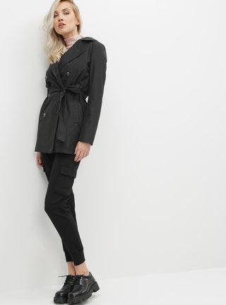 Čierny dámsky ľahký kabát ZOOT Baseline Jenifer