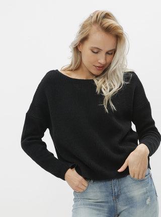 Čierny obojstranný basic sveter ONLY Fbrynn