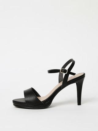 Čierne sandálky OJJU