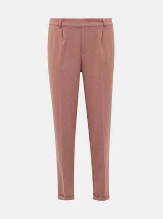 Starorůžové zkrácené kalhoty ONLY Focus