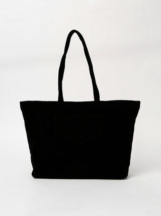 Černá kabelka v semišové úpravě Haily´s Shoppy