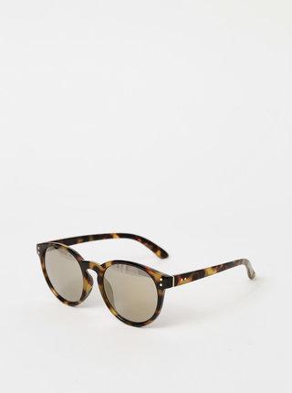 Hnedé vzorované slunečné okuliare Haily´s Pauli