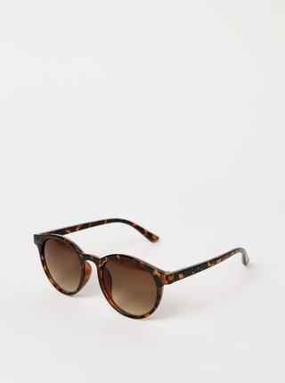 Hnedé vzorované slunečné okuliare Haily´s Sonni