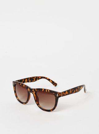 Hnedé vzorované slunečné okuliare Haily´s Polly