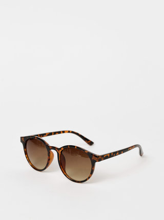 Hnedé vzorované slnečné okuliare Haily´s Sola