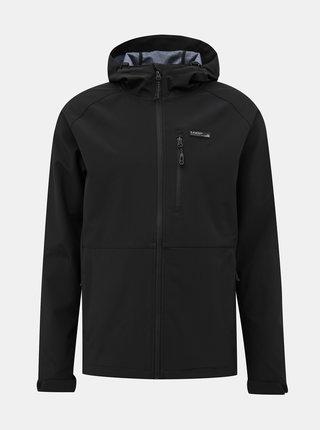 Čierna pánska softshellová bunda LOAP Lawer