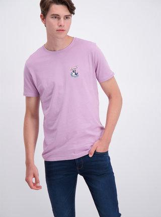 Světle fialové tričko Shine Original