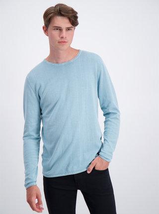 Modrý basic sveter Shine Original