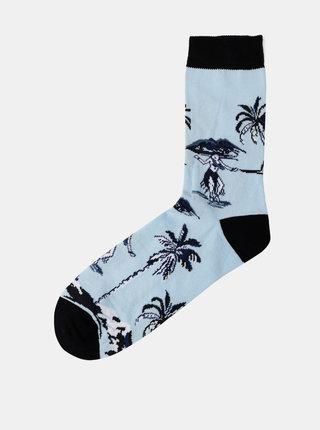 Modré vzorované ponožky Shine Original