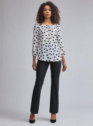 Černé bootcut kalhoty Dorothy Perkins Tall