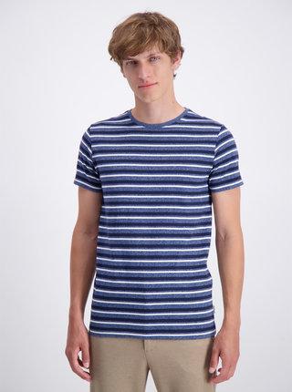 Tmavě modré pruhované basic tričko Lindbergh