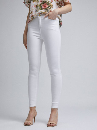 Biele skinny fit rifle Dorothy Perkins Shape & Lift