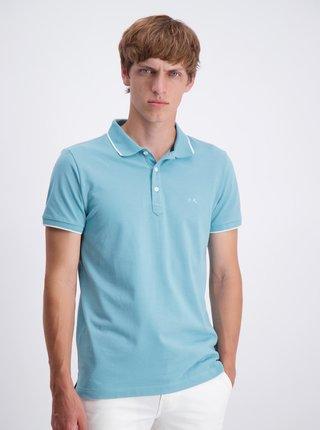 Světle modré polo tričko Lindbergh