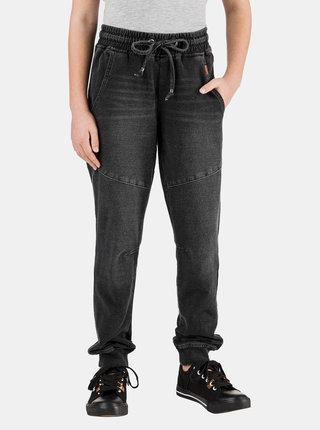 Tmavě šedé holčičí kalhoty SAM 73