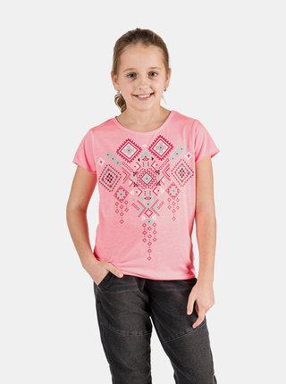 Neonově růžové holčičí tričko SAM 73