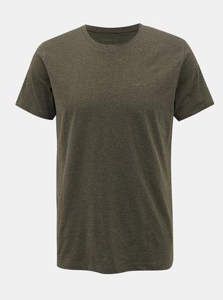 Khaki pánské basic tričko SAM 73