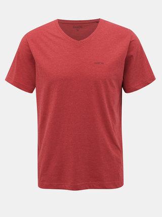 Červené pánske basic tričko SAM 73