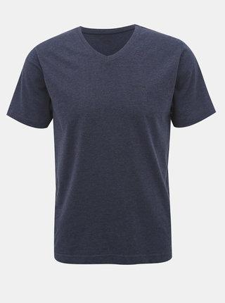 Tmavomodré pánske basic tričko SAM 73