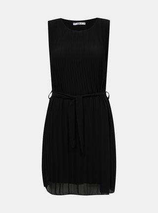 Čierne plisované šaty Haily´s Glory
