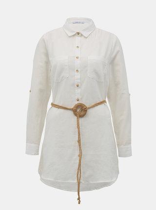 Biela dámska košeľa Haily´s Larissa