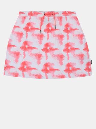 Bílo-růžová holčičí vzorovaná sukně SAM 73