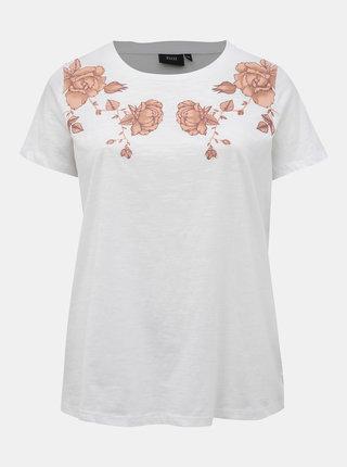 Biele tričko Zizzi Mlily