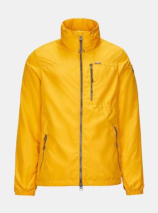 Žlutá pánská lehká bunda killtec Gopalo